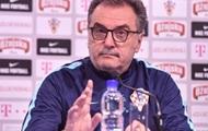 Тренер сборной Хорватии: Сборная Украины показала отличную игру