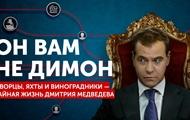 У премьера России Медведева нашли тайную