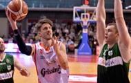 Украинцы за границей: удачные матчи и поражения в баскетболе