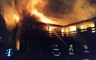 В Киеве на Троещине сгорел банный комплекс, есть пострадавшие