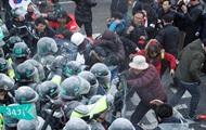 В Сеуле столкновения с полицией: есть погибшие