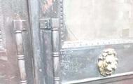 В Украинском институте нацпамяти подожгли дверь