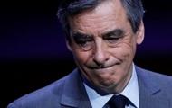 Фийона обсыпали мукой перед встречей в Страсбурге