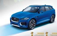 Jaguar F-PACE признали лучшим автомобилем года