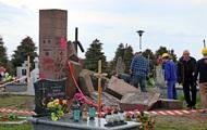 Киев останавливает легализацию польских памятников