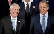 Лавров обсудил с Тиллерсоном удар США по Сирии