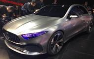 Mercedes показал прототип своего нового седана