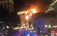 В Лас-Вегасе горело известное казино