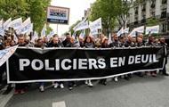 В Париже полицейские вышли на