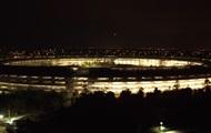 В Сети показали аэровидеосъемку с кампусом Apple