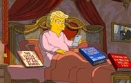 В Симпсонах высмеяли 100 дней президентства Трампа