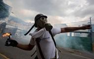 Во время протестов в Венесуэле погибли пять человек