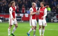 Аякс разгромил Лион в первом матче 1/2 финала Лиги Европы