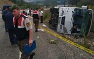 ДТП с автобусом украинцев в Турции: 18 раненых