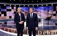 Макрон увеличил отрыв от Ле Пен перед голосованием