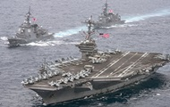 США оставят свой авианосец возле Корейского полуострова