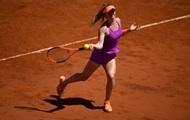 Свитолина пробилась в четвертьфинал турнира в Риме