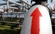 Украина увеличила импорт газа на 65%