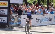 Украинская велогонщица Беломоина выиграла гонку в Австрии