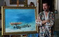 Умер украинский художник, рисовавший картины под водой