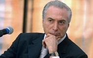 В Бразилии начнут расследование в отношении президента