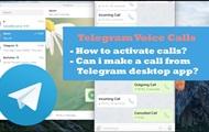 В десктопном Telegram появились голосовые звонки
