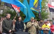 В Киеве под зданием МВД требуют отставки Авакова