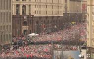 В Москве проходит Бессмертный полк