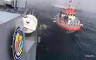 В Турции вылавливают боеприпасы с затонувшего корабля РФ