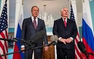 Встреча Тиллерсона и Лаврова: санкции остаются