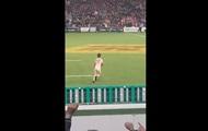 Голый фанат выбежал на регбийное поле в Окленде