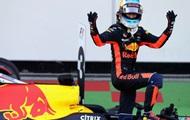 Риккардо стал победителем яркого Гран-при Азарбайджана