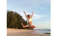 Танец Бритни Спирс на пляже стал хитом Сети