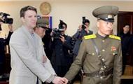Умер американский студент, которого осудили в КНДР