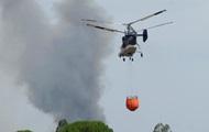 В Испании эвакуированы тысячи человек из-за пожара