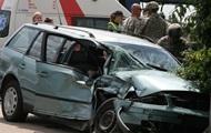 В Литве Hummer НАТО врезался в авто со студентками
