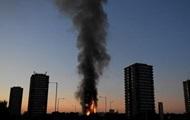 В Лондоне сильнейший пожар в многоэтажке