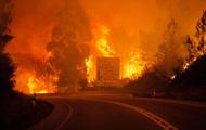 В Португалии бушуют лесные пожары, более 20 жертв