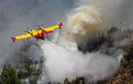 В Португалии разбился самолет, тушивший лесные пожары