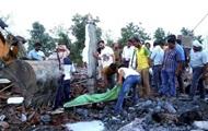 В Сети показали последствия взрыва в Индии