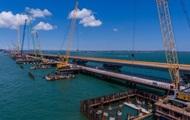 Автомобильная часть Крымского моста готова на 75% - Минтранс РФ