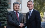 Киев потратил два миллиона на приезд главы НАТО