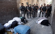 Тысячи мусульман отказались молиться на Храмовой горе