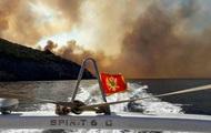 В Черногории эвакуируют туристов из-за лесных пожаров