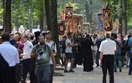 В Киеве перекроют улицы из-за крестного хода