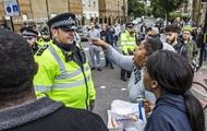 В Лондоне протестуют из-за смерти задержанного