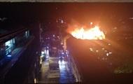 В Лондоне тушат крупный пожар