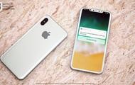 В Сети показали новые рендеры iPhone 8