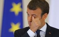 Макрон продолжает терять рейтинг во Франции