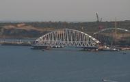На Керченском мосту устанавливают ж/д арку